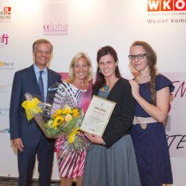 SanaVia als frauen- und familienfreundliche Non-Profit-Organisation ausgezeichnet